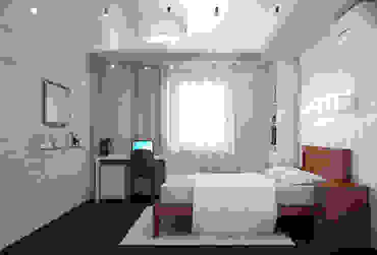 Двухкомнатная квартира для холостяка Спальня в эклектичном стиле от Center of interior design Эклектичный