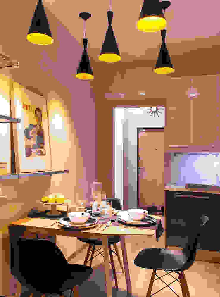 квартира в ЖК Семь столиц Кухня в стиле модерн от projectorstudio Модерн