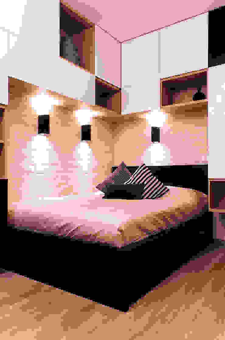 квартира в ЖК Семь столиц Спальня в стиле модерн от projectorstudio Модерн