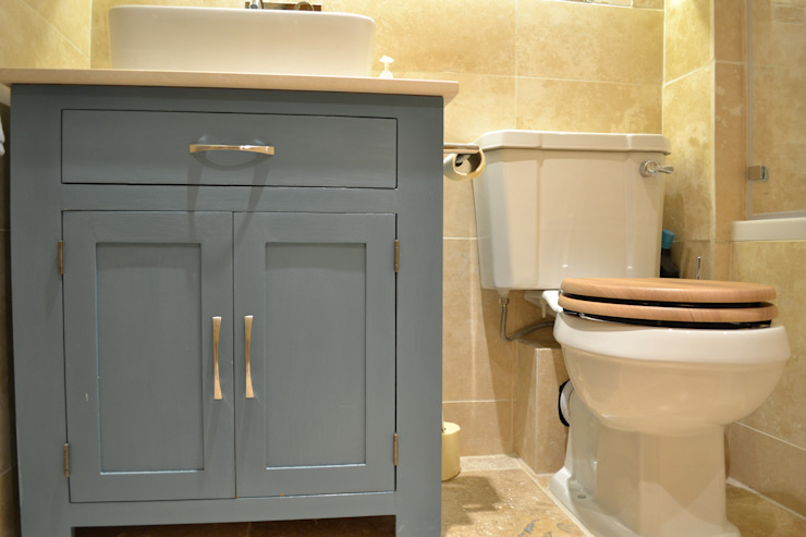 Bathroom at Barrier Point London E16 by Design Inspired Ltd