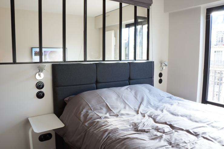 blackStones Industrial style bedroom