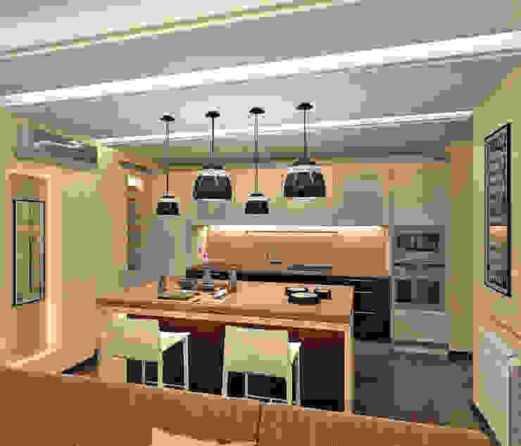 Кухня: Кухни в . Автор – Aledoconcept,