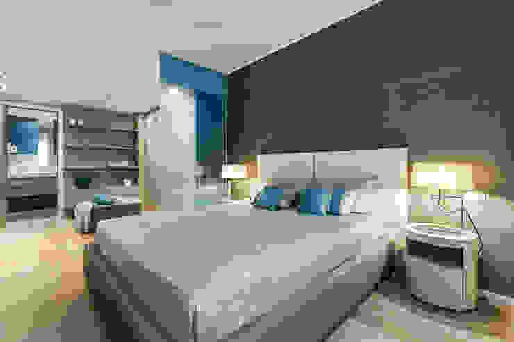 Summer residence - Interior design for the apartments on Cote d'Azur Habitaciones modernas de NG-STUDIO Interior Design Moderno