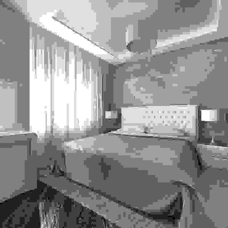 Спальня. Роспись Спальня в стиле модерн от Aledoconcept Модерн
