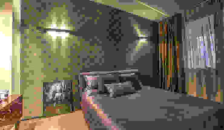 camera matrimoniale Camera da letto moderna di cristina zanni designer Moderno