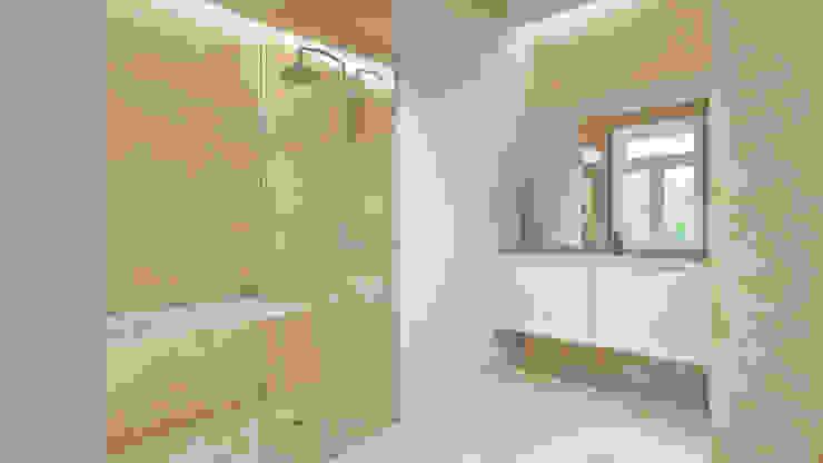 Casa em Lavra, Matosinhos: Casas de banho  por ASVS Arquitectos Associados