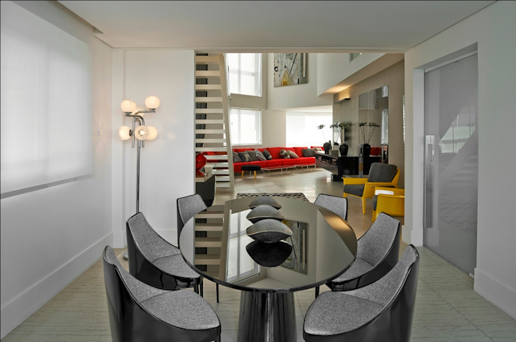 Cassio Gontijo Arquitetura e Decoração Modern Dining Room