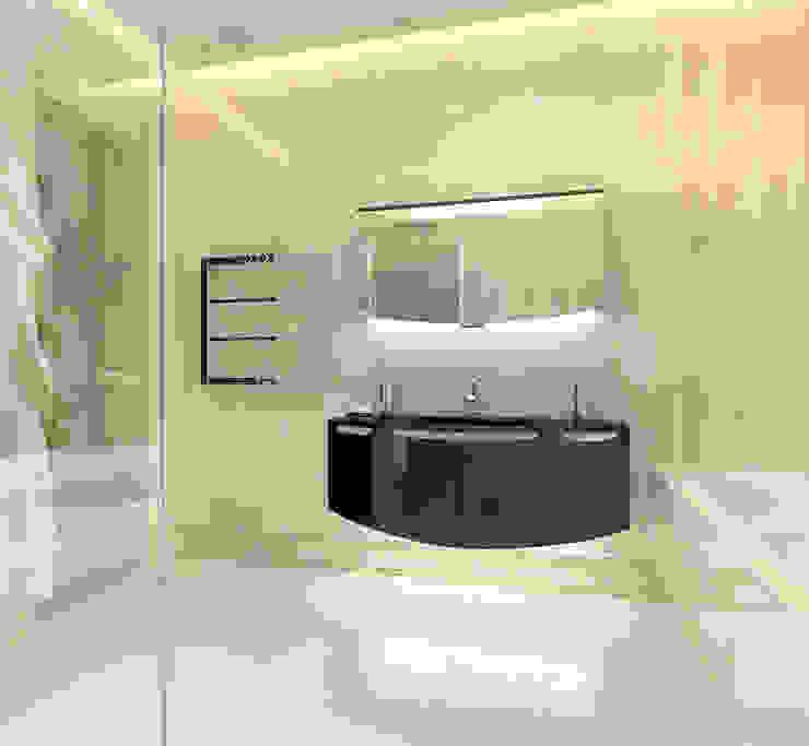 Ванная Ванная комната в стиле модерн от Aledoconcept Модерн