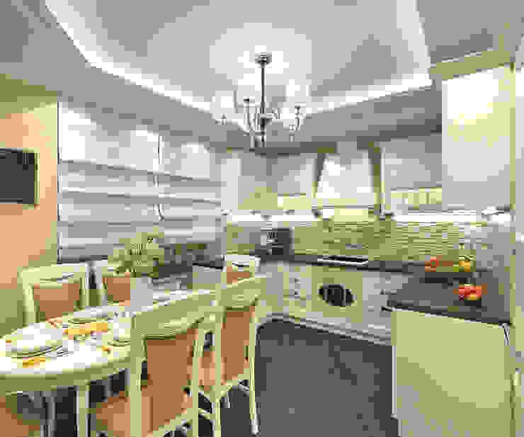 Кухня Кухни в эклектичном стиле от Aledoconcept Эклектичный