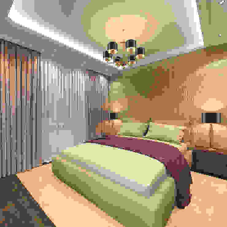Спальня родителей Спальня в эклектичном стиле от Aledoconcept Эклектичный