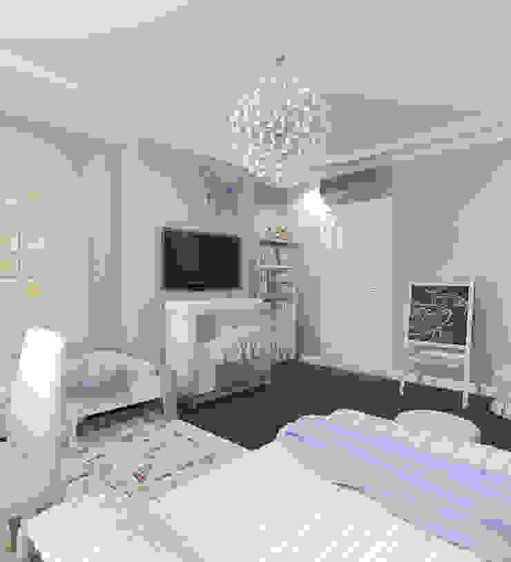 Детская двух девочек Детские комната в эклектичном стиле от Aledoconcept Эклектичный