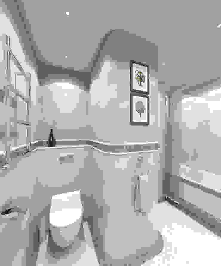 Ванная Ванная комната в эклектичном стиле от Aledoconcept Эклектичный