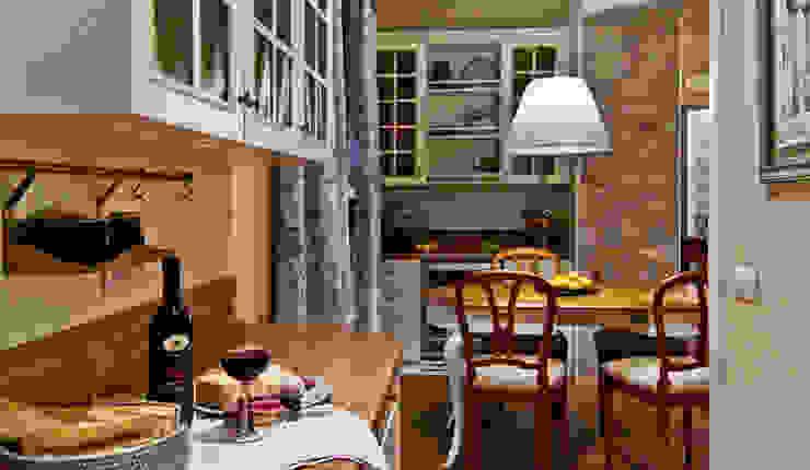 Итальянский прованс - Дизайн интерьера виллы на Итальянской Ривьере Кухня в средиземноморском стиле от NG-STUDIO Interior Design Средиземноморский