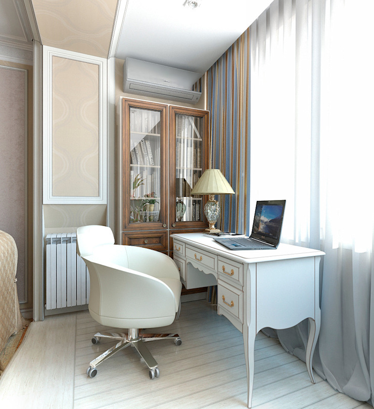 Classic style study/office by Aledoconcept Classic