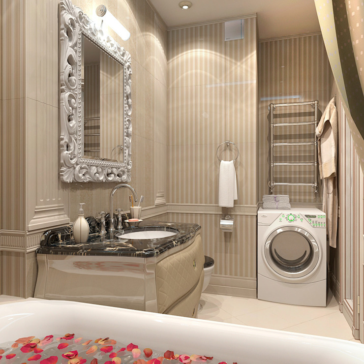 Classic style bathrooms by Aledoconcept Classic