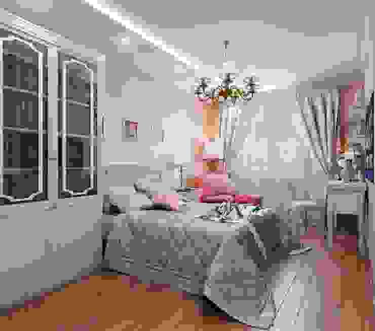 Квартира. Озерки.: Спальни в . Автор – Студия дизайна Elena-art,