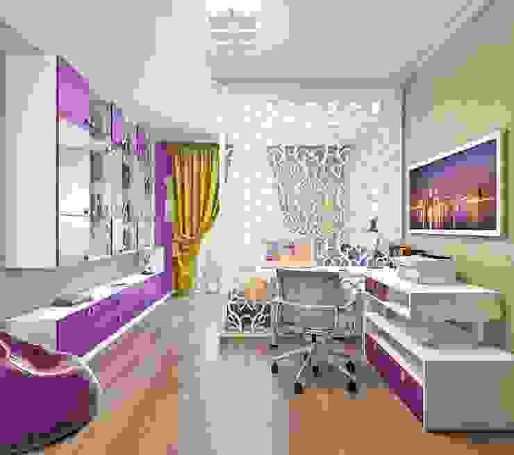 Квартира. Озерки.: Детские комнаты в . Автор – Студия дизайна Elena-art,