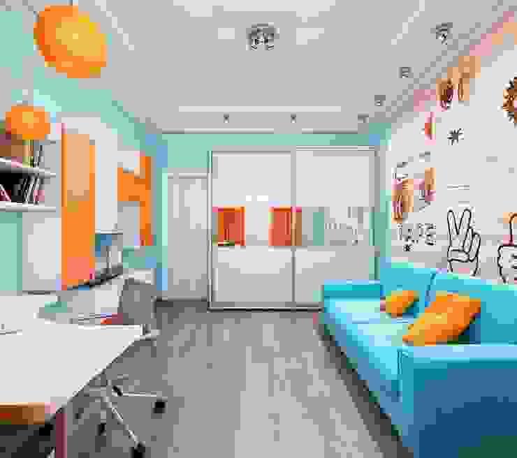 Квартира. Озерки. Детская комнатa в скандинавском стиле от Студия дизайна Elena-art Скандинавский