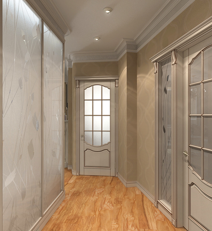 Classic corridor, hallway & stairs by Aledoconcept Classic