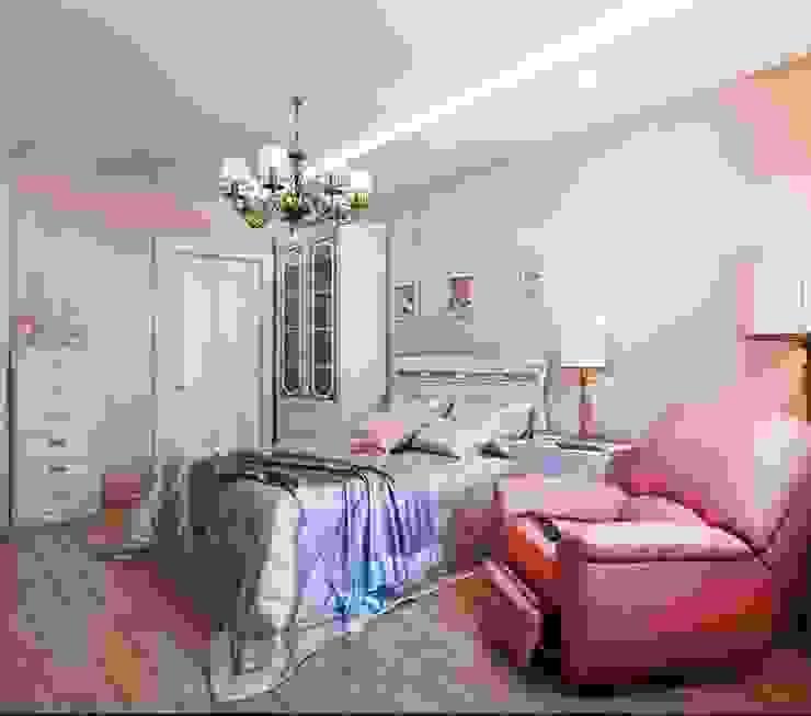 Квартира. Озерки. Спальня в классическом стиле от Студия дизайна Elena-art Классический