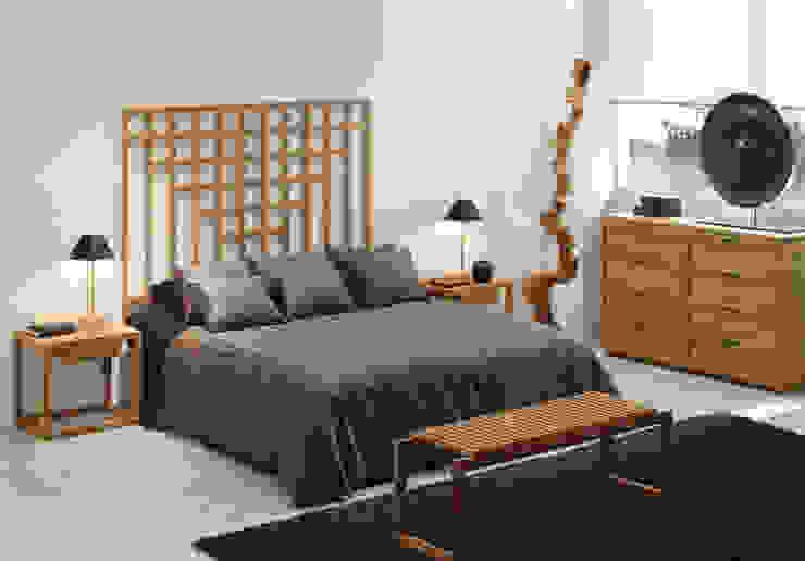 Dormitorios de Jardín de Teca Moderno