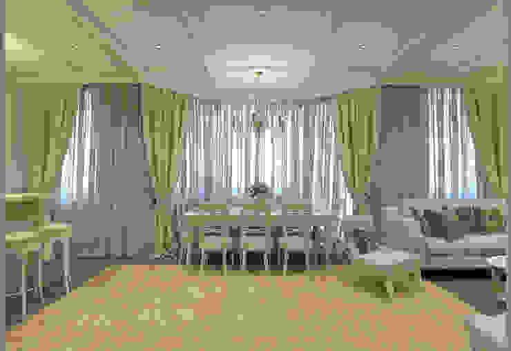 Столовая-гостиная Aledoconcept Столовая комната в классическом стиле
