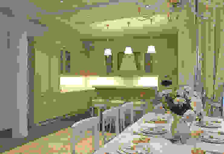 Кухня-столовая Aledoconcept Кухня в классическом стиле