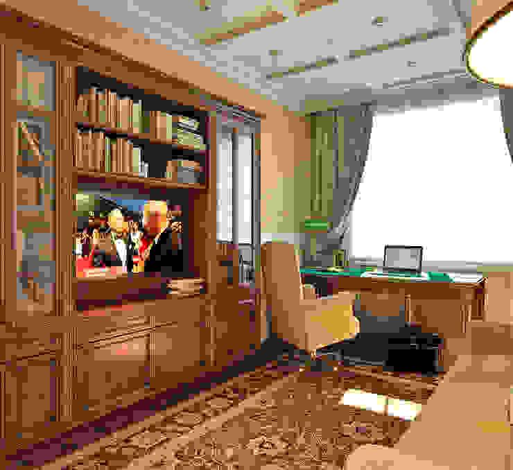 Кабинет Aledoconcept Рабочий кабинет в классическом стиле