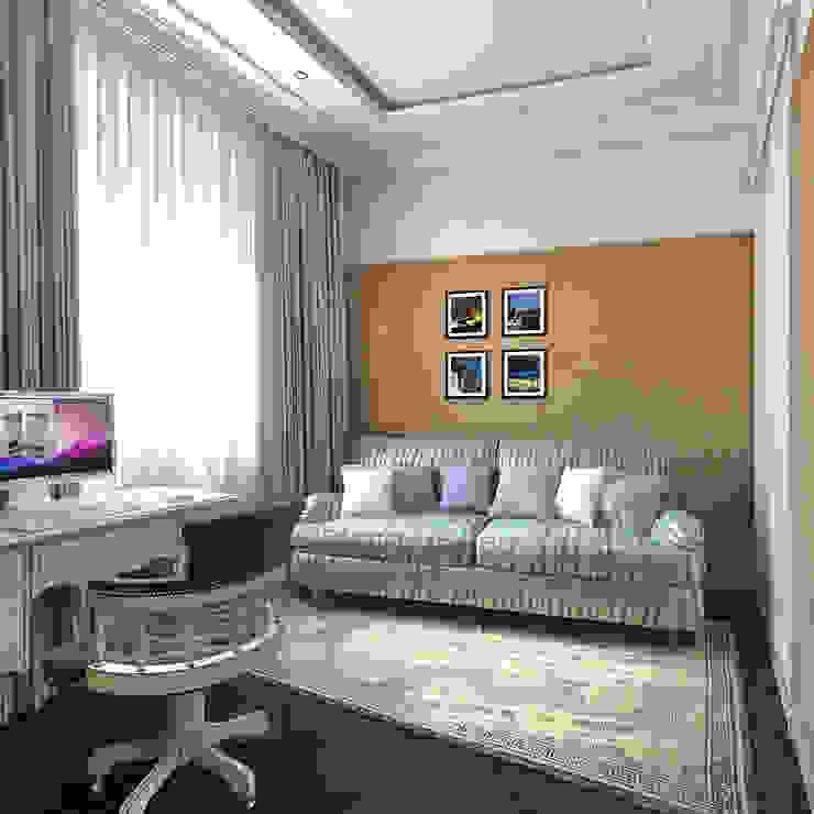 Гостевая комната Aledoconcept Рабочий кабинет в классическом стиле