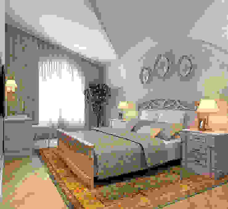 Спальня гостевая Aledoconcept Спальня в классическом стиле