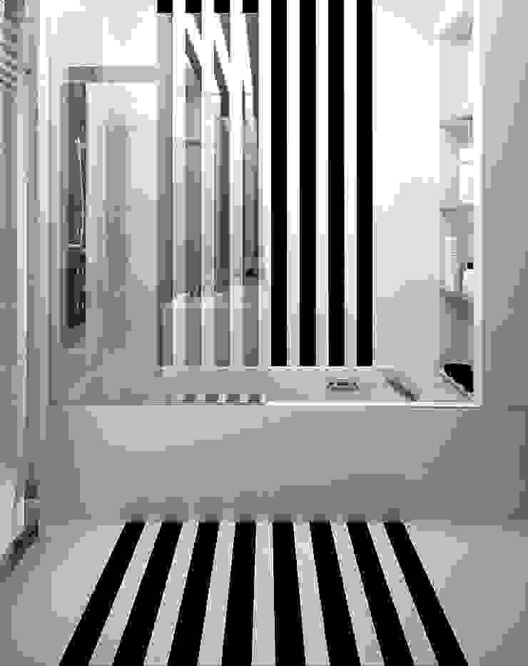 Квартира в ЖК Антарес. Екатеринбург. Ванная комната в стиле минимализм от Dmitriy Khanin Минимализм