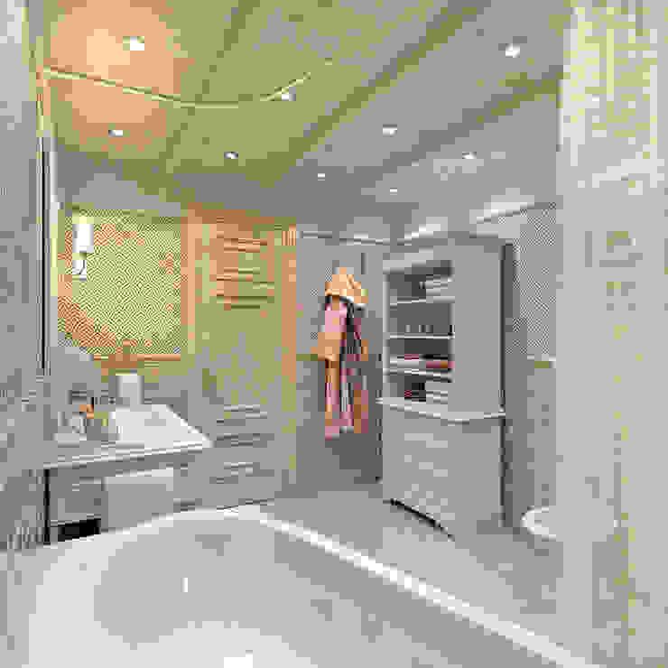 Ванная комната хозяев Aledoconcept Ванная в классическом стиле
