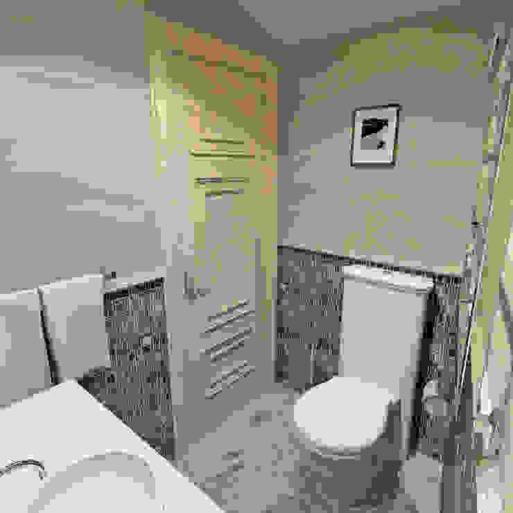 Санузел на мансарде Aledoconcept Ванная в классическом стиле