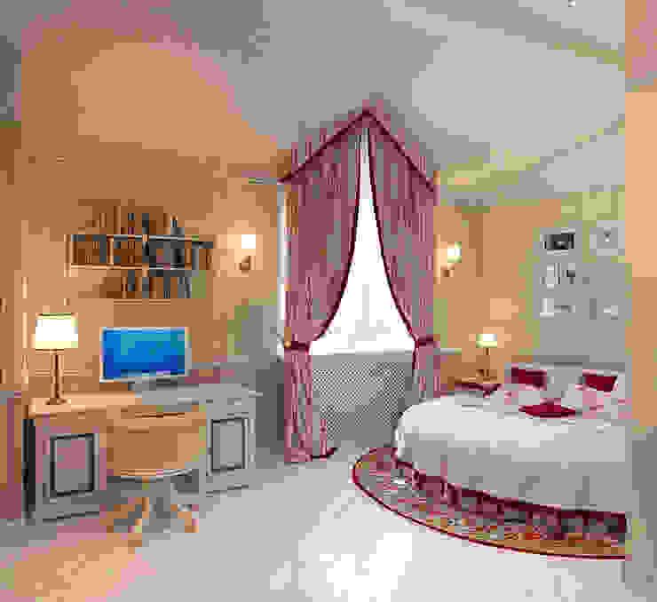 Спальня дочери Aledoconcept Детская комнатa в классическом стиле