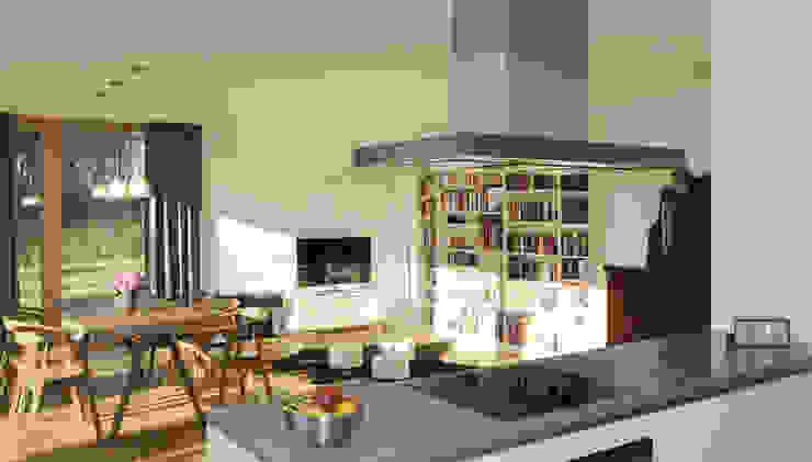 Wohnzimmer Moderne Wohnzimmer von JEBENS SCHOOF ARCHITEKTEN Modern