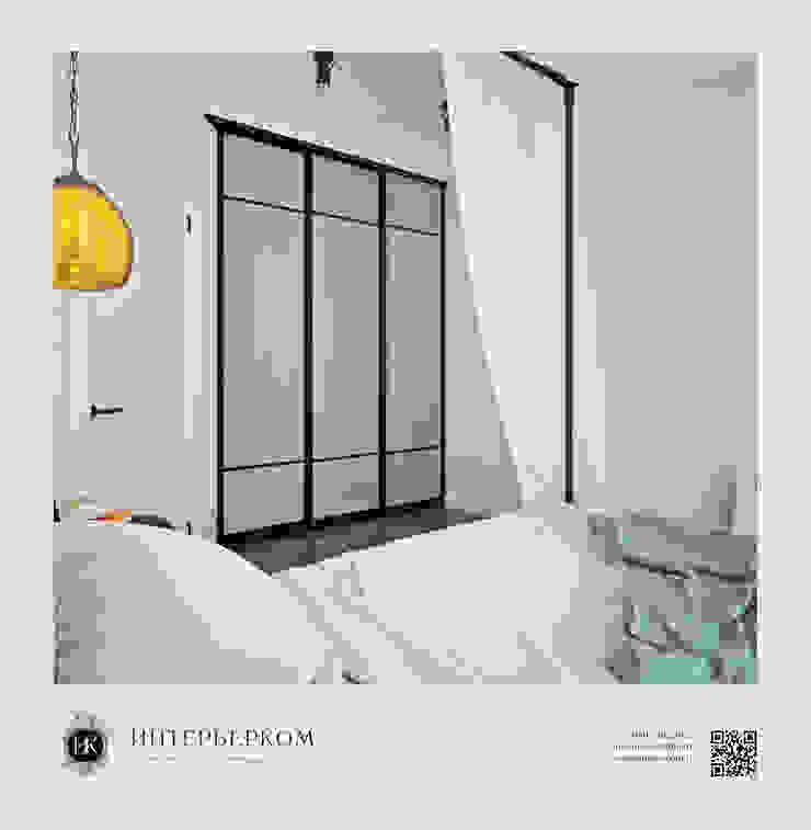 дизайн-проект спальни Easy loft Спальня в стиле лофт от ИнтерьерКом / InteriorCom Лофт