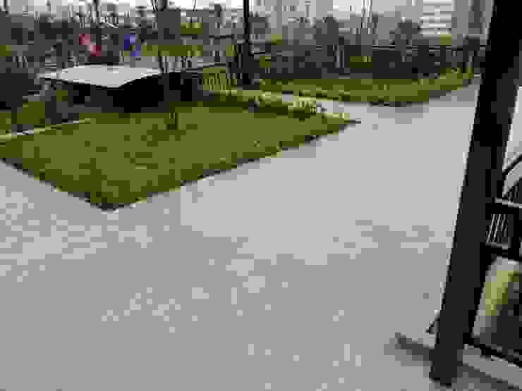 BAZALT KÜPTAŞ Modern style gardens
