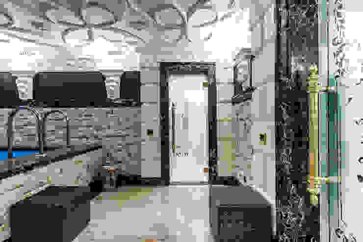 Интерьер загородного дома в стиле Эклектика Belimov-Gushchin Andrey Бассейны в эклектичном стиле
