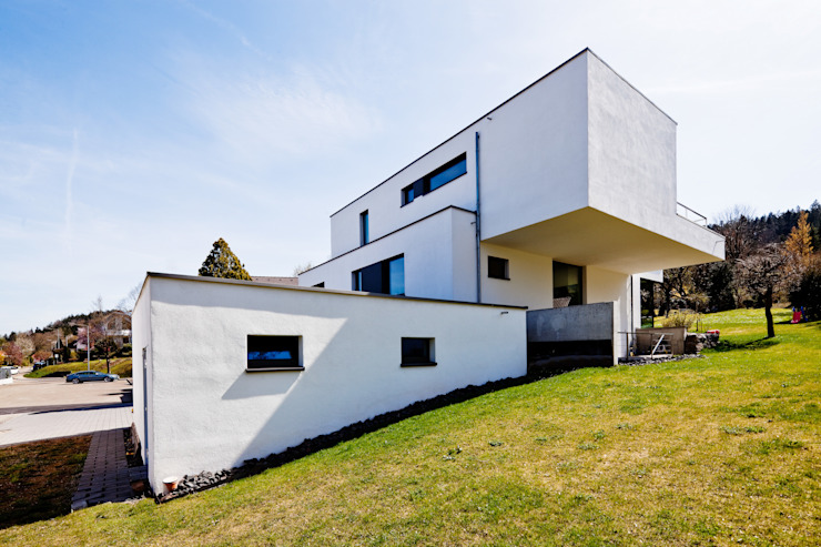 brügel_eickholt architekten gmbh Casas de estilo minimalista