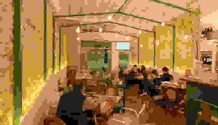 BAR – TAPAS <q> CAN PINXET </q> MALLORCA Edificios de oficinas de estilo mediterráneo de felip polar Mediterráneo
