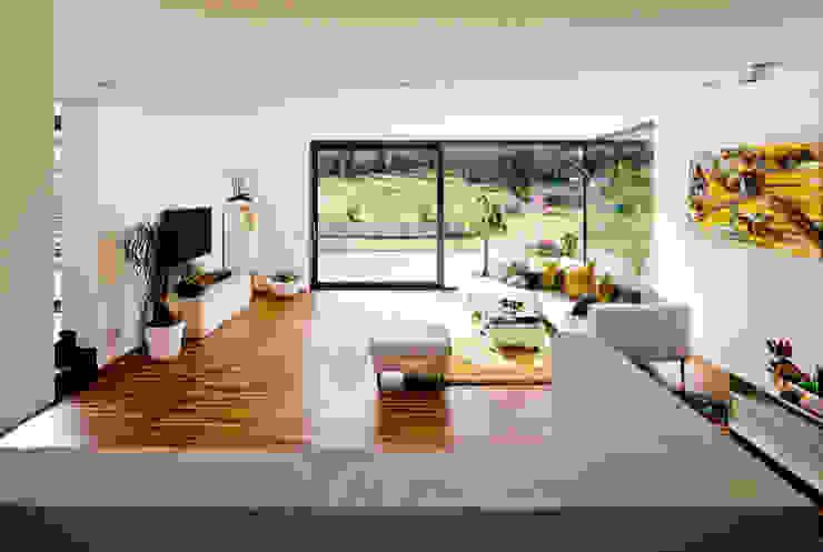 brügel_eickholt architekten gmbh Salones de estilo moderno
