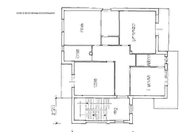 planimetria della situazione prima dell'intervento di Laura Canonico Architetto