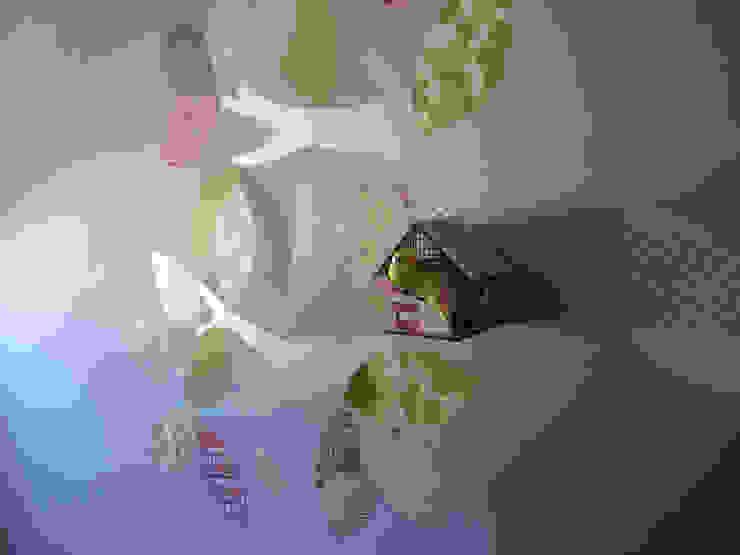 particolare decorazione a parete di Laura Canonico Architetto Eclettico