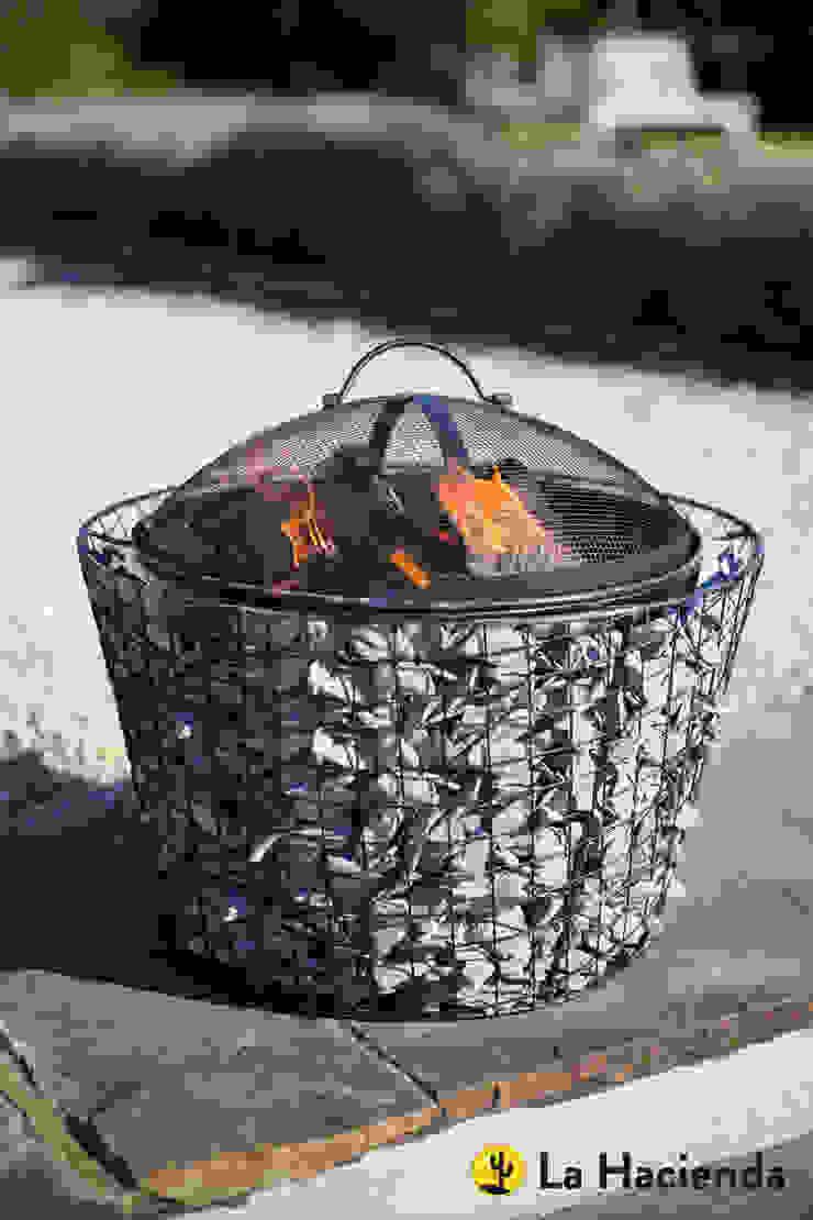 Cone Pebble mesh with grill La Hacienda Сад Грильницы
