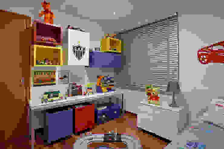 Детские комнаты в . Автор – homify, Модерн