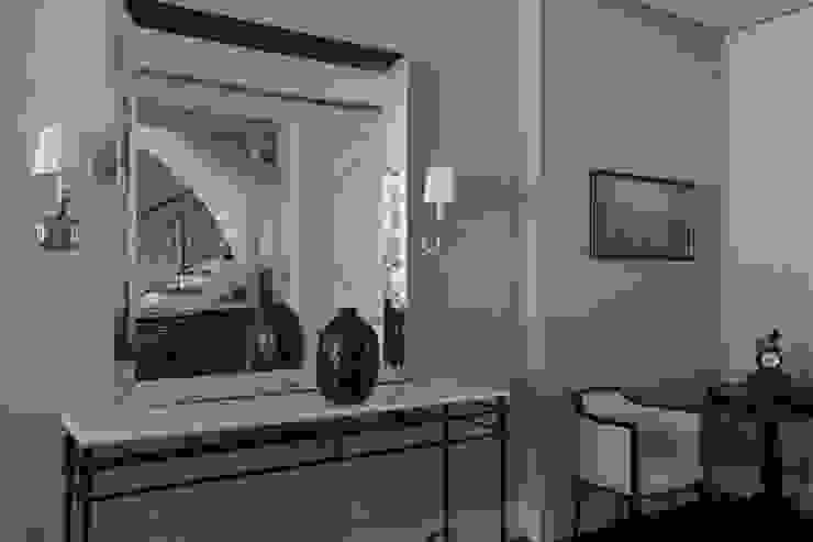 Дом в Горках Коридор, прихожая и лестница в классическом стиле от Lighthouse Projects Классический