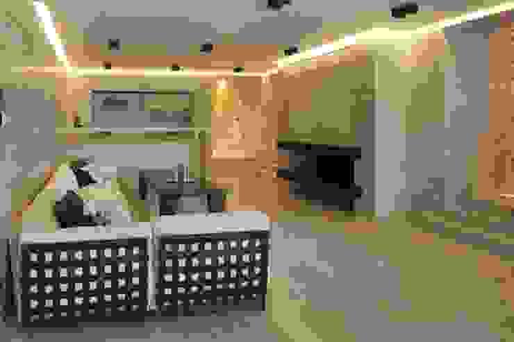 Дом в Горках Бассейн в азиатском стиле от Lighthouse Projects Азиатский