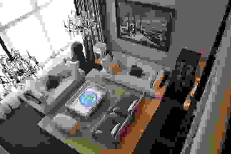 Дом в Горках Гостиная в классическом стиле от Lighthouse Projects Классический