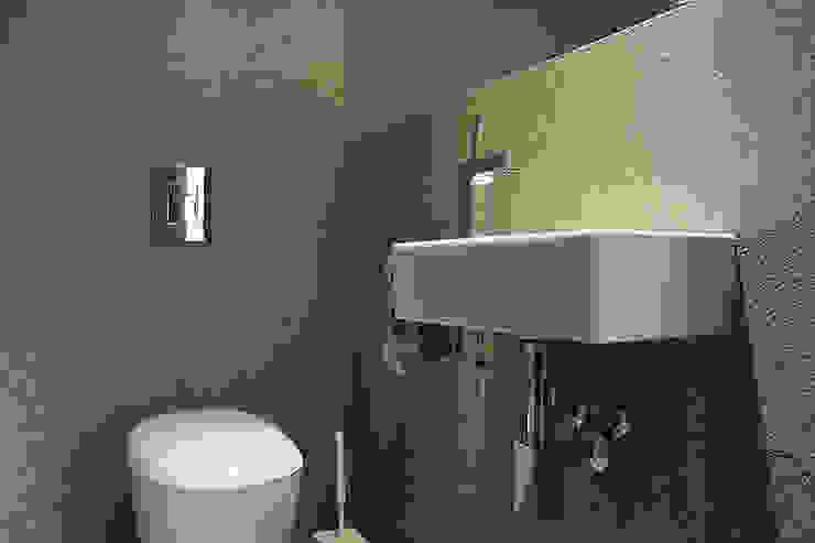 Łazienka: styl , w kategorii Łazienka zaprojektowany przez Konrad Idaszewski Architekt,Nowoczesny