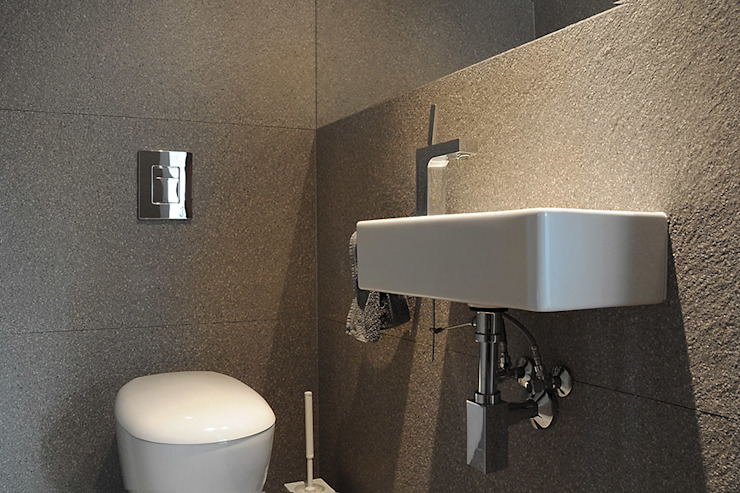 Moderne badkamers van Konrad Idaszewski Architekt Modern